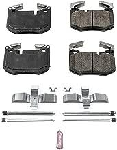 Power Stop 17-1807, Z17 Rear Ceramic Brake Pads with Hardware