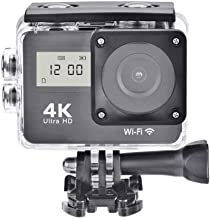 4K Action Camera,Full Hd 1080P WiFi Double Screens Touch Screen Sport Camera 130° Wide Angle Night Vision Action Camcorder...