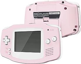 IPS Ready Upgrade eXtremeRate Sakura Pink Soft Touch GBA Capa de substituição com botões para Gameboy Advance – Compatível...