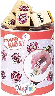 Aladine - Stampo Kids - Tampons Enfant - Activités Manuelles Fille et Garçon - Jouets et Jeux Créatifs pour Enfants - Boît...