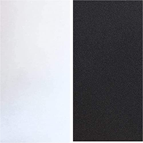 new arrival Matte White Privacy Window Film & Total Blackout Window Tinting wholesale Film for Home 17.5 x outlet sale 78.7 inches online