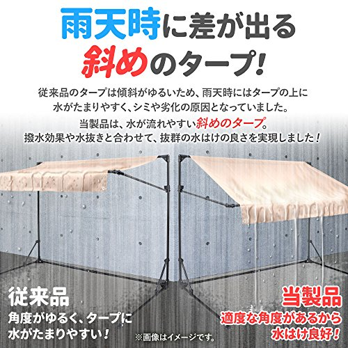 Bonarca(ボナルカ)『折りたたみ式サイクルガレージ(SR-CG01)』
