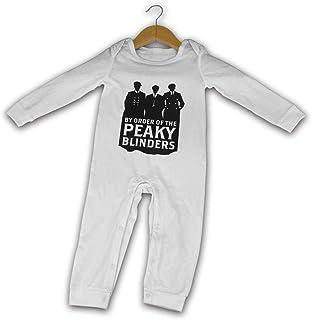 Yuanmeiju by Order of The Peaky Blinders Baby Mameluco Long Sleeve Cozy Cute Mono Newborn Crawler