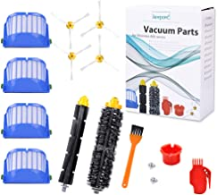 KEEPOW Replacement Accessories Kit for iRobot Roomba 600 Series 675 690 680 671 652 650 620 614 595 Vac Parts, 4 Hepa Filters,4 Side Brushes,1 Flexible Beater Brush,1 Bristle Brush,2 Cleaning Tool