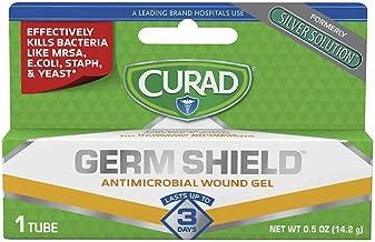 Curad Germ Shield Antimicrobial Gel 0.50 oz (Pack of 2)