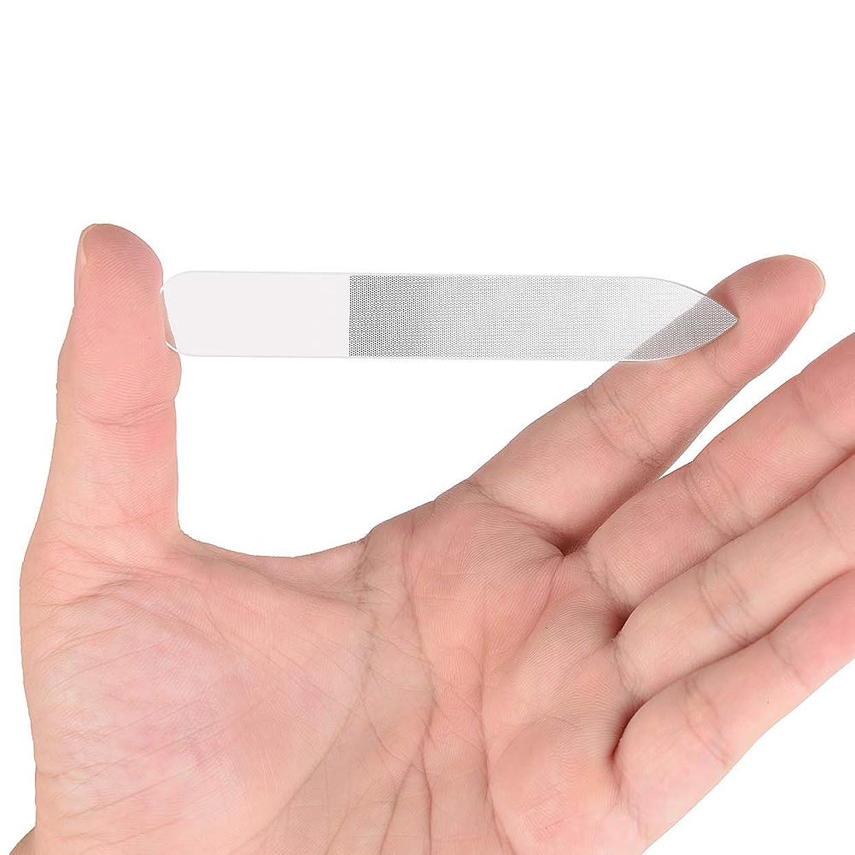 批判的に知覚できる味方Gollust ガラス製爪やすり 持ち運びやすい 持久耐用 (1個入)