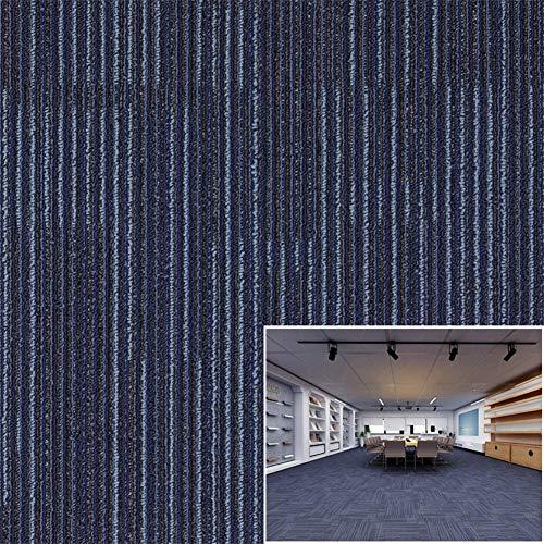 Matten hard dragende commerciële tapijt tegels, (5 m2) pak van 20 tegels, 50 x 50 cm/19.7x19.7 inch wasbaar voor vloer