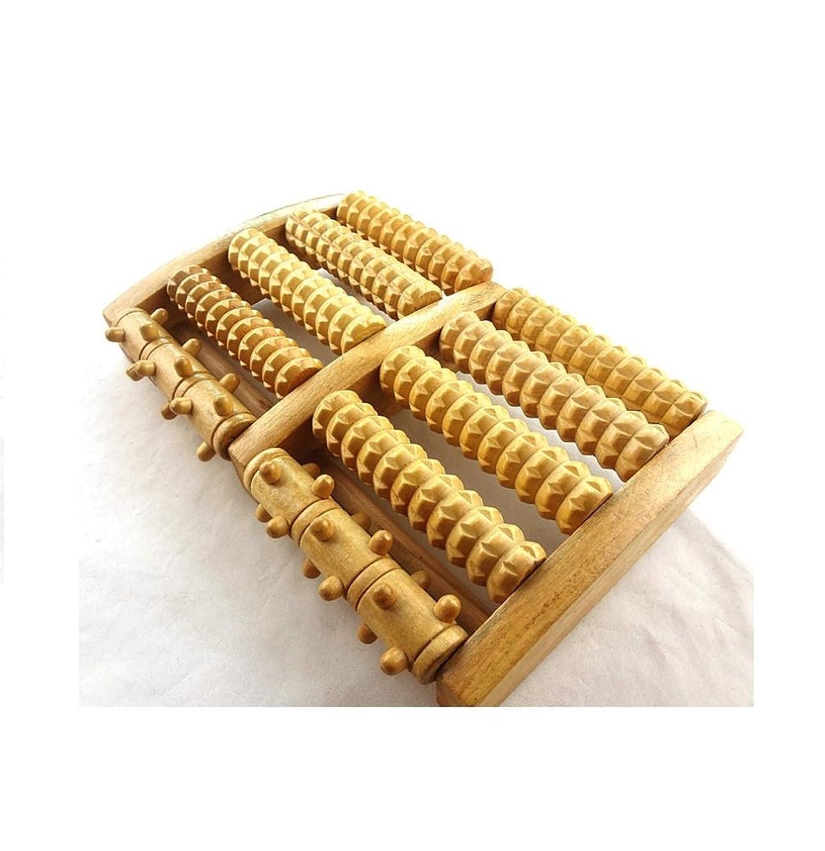 疎外練習意識IPINDO(イッピンドウ)フットマッサージ器 足つぼマッサージ 足裏 ツボ押し ローラー 木製 リラクゼーション
