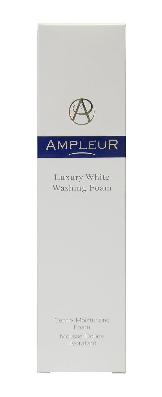 の面では記念品教科書AMPLEUR(アンプルール) ラグジュアリーホワイト ウォッシングフォームN 130g