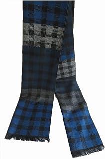 メンズ シルク100% 起毛素材マフラー 冬 スカーフ 防寒 ストール ビジネス カジュアル