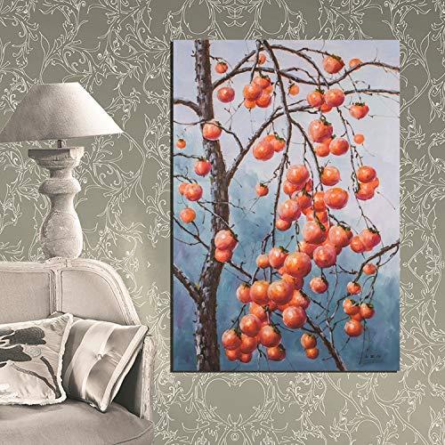 baodanla Frameless originele HD spuiten schilderij bijsluiter Xihongyu fruit stilleven olie schilderij frameloze schilderij