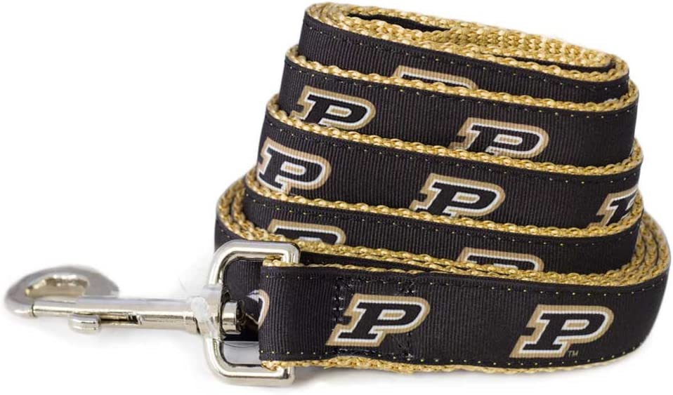 All Max 77% OFF Star Dogs NCAA Boilermakers Leash Now free shipping Purdue Dog