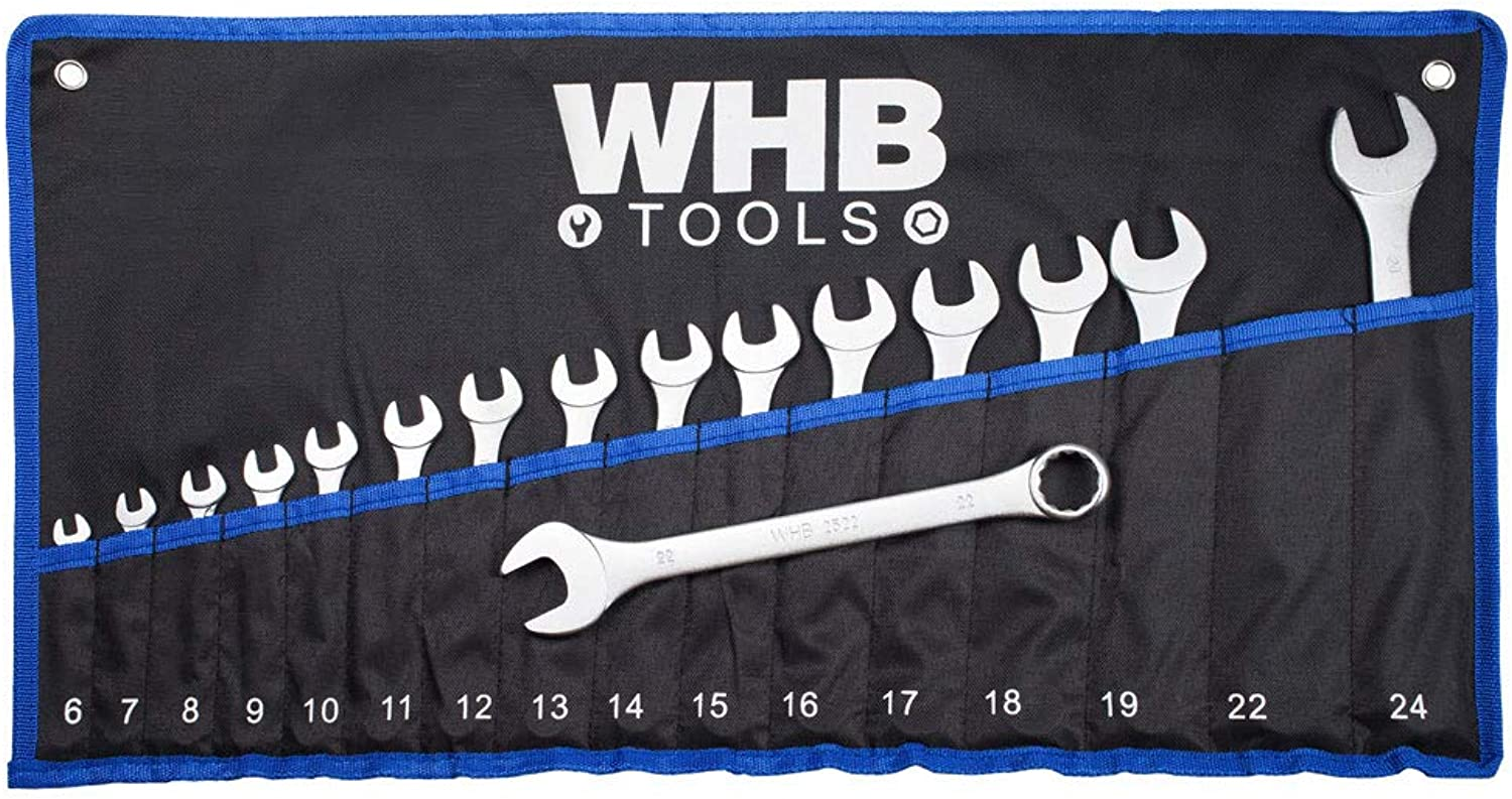 WHB Tools Tools Tools 2616 Ring-Maulschlüssel-Satz 16-tlg. 6-24mm in Rolltasche B07PW8QLWF | Offizielle