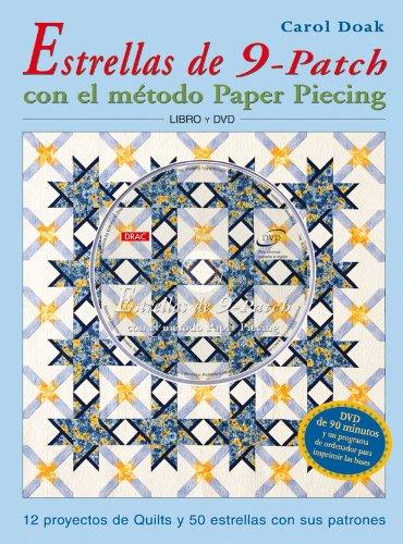 Estrella de 9-Patch Con el Método Paper Piecing
