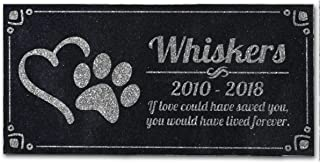 Best engraved pet headstones Reviews