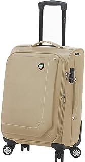حقيبة حمل أدوات الزينة الإيطالية ماديسيمو سوفت سايد من ميا تورو، لون أحمر