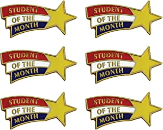 student of the month pins