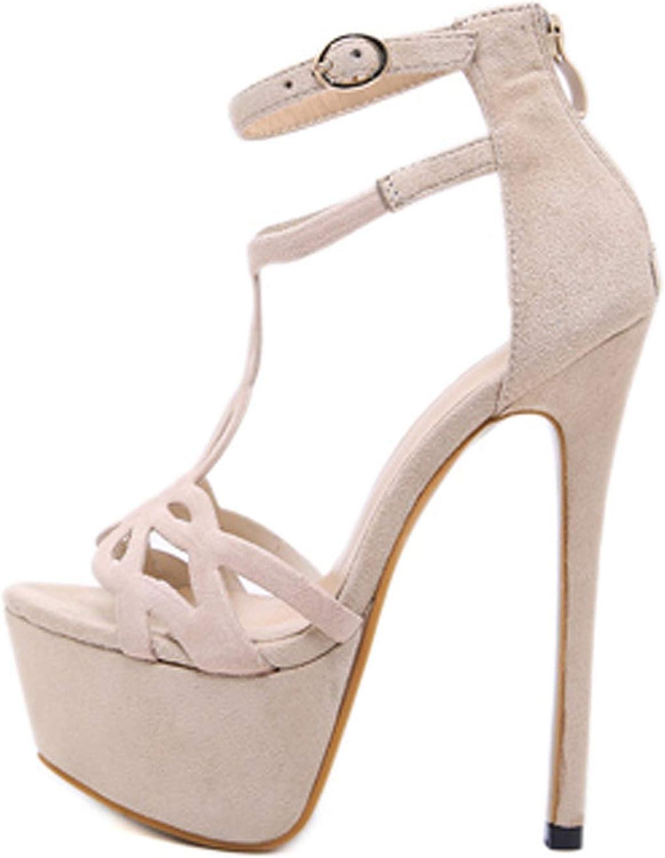 Ches 2019 New Gladiator Ankle Strap Women Sandals Sexy Women Pumps high Heels Sandalia Feminina bluee Apricot Black