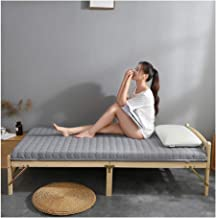 Tatami Mattress, Single Double Sponge Pad Warm and Moisture-Proof Cotton Pad Student Dormitory Household Mattress Thicknes...