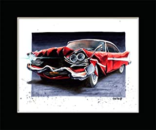 TOOTHY '58 PLYMOUTH FURY from JOHN CARPENTERS CHRISTINE Fine Art Print