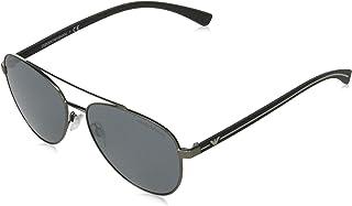 نظارات شمسية من امبوريو ارماني للرجال 0EA2079 , رمادي مطفي، 58
