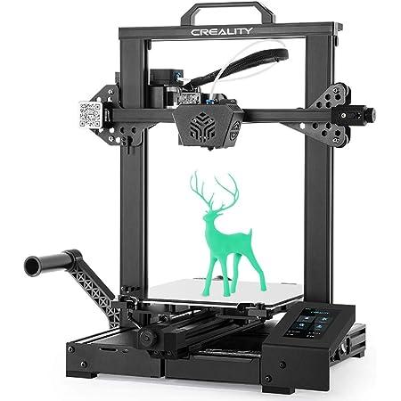 Touch Screen Lastra di Vetro Temperato e Doppio Asse Z Creality CR-6 SE Stampante 3D Scheda Madre Silenziosa Alimentatore Meanwell Dimensioni di Stampa 235x235x250mm Senza Livellamento