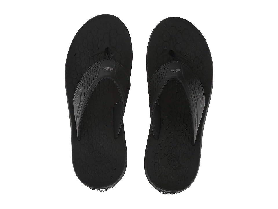 Quiksilver Layover Travel Sandal (Black/Blue/Black) Men