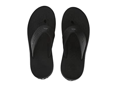 Quiksilver Layover Travel Sandal (Black/Blue/Black) Men