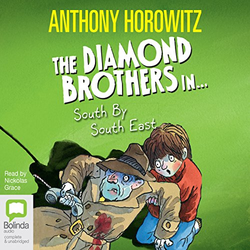 South by South East     A Diamond Brothers Mystery              De :                                                                                                                                 Anthony Horowitz                               Lu par :                                                                                                                                 Nickolas Grace                      Durée : 3 h et 13 min     Pas de notations     Global 0,0