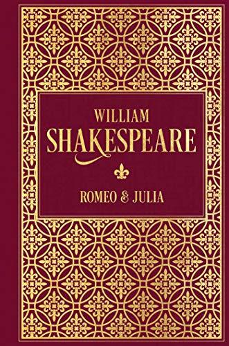 Romeo und Julia: Leinen mit Goldprägung