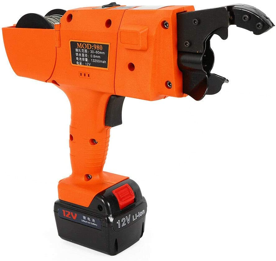 Automatic Rebar Tying Machine 12V Handheld Limited price Gifts Reb 30-60mm Electric