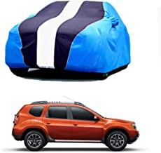 Bull Rider Car Body Cover for Renault Duster (with Mirror Pockets- Navy&Blue)