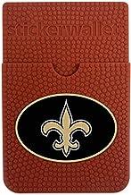 GameWear NFL New Orleans Saints Sticker Wallet, Brown, N/A
