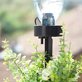 TOPBATHY 5Pcs Self Watering Automatic Sprinkler Stakes Water Dropper Bottle Irrigation Cone for Office Planter