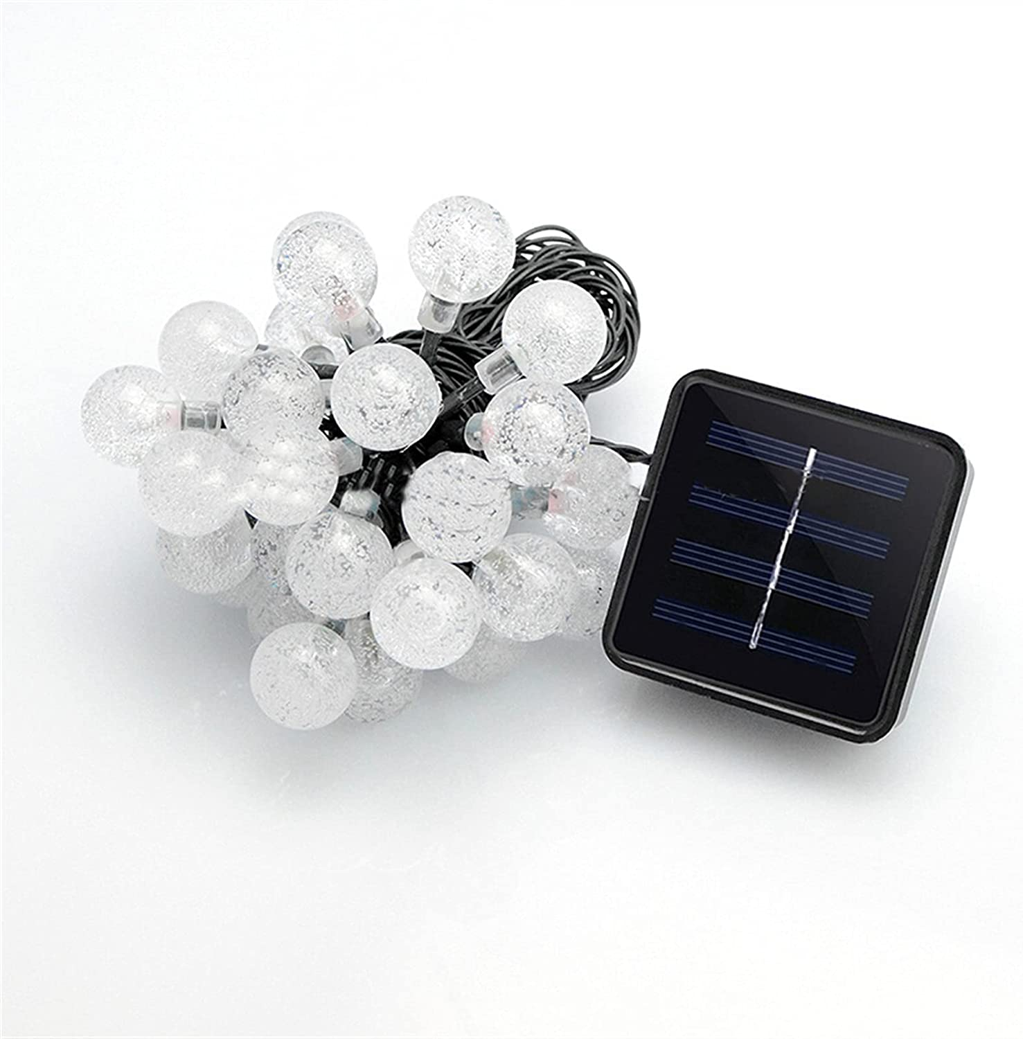 Solar String Light 50LED Bubble All Recommendation items free shipping Bead Lamp Chr Outdoor Decoration