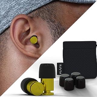 Flare Audio® - Isolate (Aluminium) Ear Protection Earplugs (Yellow Finish)