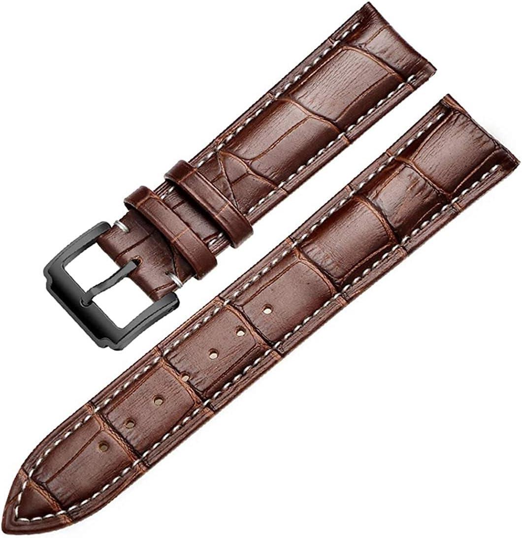 QZMX Popular Watch Strap 16mm 18mm 19mm 20mm 22mm Ca Soft Popular brand in the world 21mm Watchband