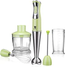 Immersion Hand Blender, Utalent 5-in-1 8-Speed Stick Blender with 500ml Food Grinder,..
