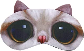 HXINFU 3d Eye Mask For Sleeping Women Travel Home Office Eye light cover Sleeping Blindfold Funny
