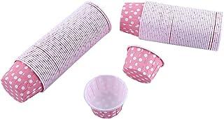 100 sztuk Mini Cupcake Liner Paper-Okrągłe Kolorowe Ciasto Kubki Do Pieczenia dla Domu Urodziny Dekoracje Ślubne Ciasto Mu...