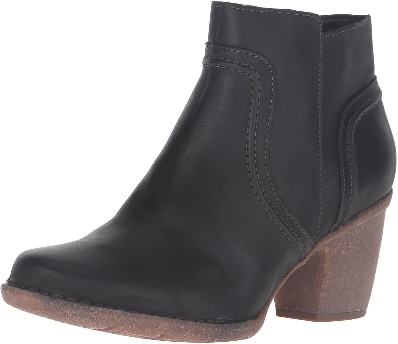 CLARKS Women's Carleta Paris Black Atlanta Mall US Leather 9 Tucson Mall Wide