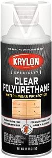 Krylon K07006007 Clear Polyurethane Gloss Finish, 11 Ounce