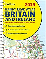 2019 Collins Handy Road Atlas Britain and Ireland (Collins Road Atlas)