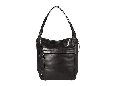 Lucky Brand Caro Tote (Black) Handbags