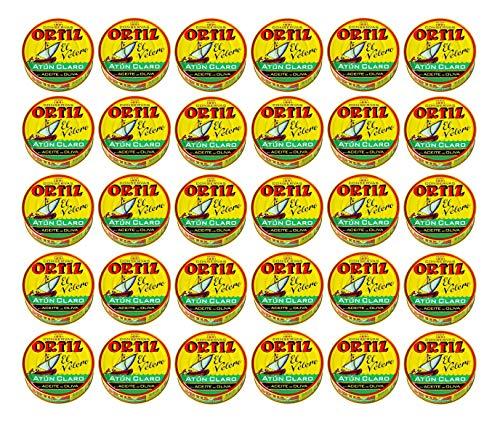 Atún Aceite Oliva Ortiz RO-265 30x250g - Caja 30 Latas