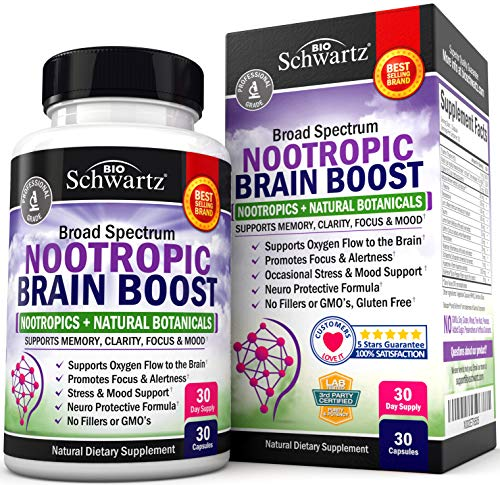 Nootropic Brain Boost Supplement by BioSchwartz review