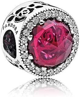 Sterling Silver Disney Belle's Radiant Rose Charm 792140NCC