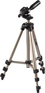 Hama Star 05 - Trípode para cámaras Foto/Video 106.5 cm Aluminio Cabeza 3D Color Dorado