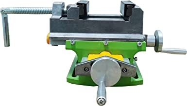 HFS(R)Compound Bench Table Compact Aluminum Bench Top WoodWorking Clamp Vise Fixture Cross Slide Table 2 Axis Adjustive fo...