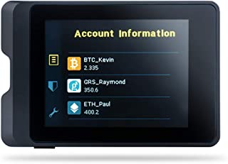 SecuX W10 Crypto-Asset Hardware Wallet - The Ideal Solution for Safely Storing Your Bitcoin, Ethereum, Ripple, Litecoin, Bitcoin Cash and ERC-20 Tokens